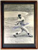 Large Print  Mantle, Mickey Signed/Framed 11x14 Photo 9.5