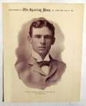 1899 M101-1 Sporting News Premiums 16 John J. McGraw (Aug 5) VG-Ex