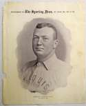1899 M101-1 Sporting News Premiums 34 Cy Young (Dec 9) Good