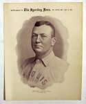 1899 M101-1 Sporting News Premiums 34 Cy Young (Dec 9) VG-Ex