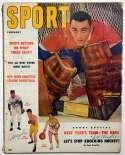 Program  Maglie, Sal Double-Signed 1957 Sport Magazine 9.5 JSA LOA