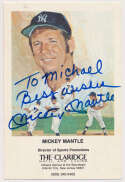 Postcard  Mantle, Mickey (pers. Michael) 9.5