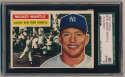 1956 Topps 135 Mantle SGC 6