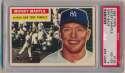 1956 Topps 135 Mantle PSA 4