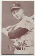 1947 Exhibit 173 Mantle Batting No Pinstripe 1st Name White VG-Ex