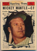 1961 Topps 578 Mantle AS Poor (tape)