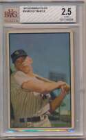 1953 Bowman Color 59 Mantle Beckett 2.5