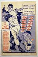 Program  Mantle/Maris Signed 1961 Ted Williams Program 9