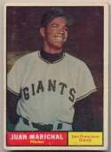 1961 Topps 417 Marichal RC SP VG+