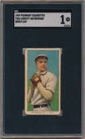 1909 T206 300 Mathewson (white cap) SGC 1