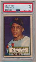 1952 Topps 261 Mays PSA 3