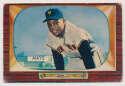 1955 Bowman 184 Mays GVG