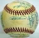 Old Timers Ball w/many Mets 9 JSA LOA