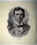1898 National Copper Plate 34 John J. McGraw RC Ex-Mt*