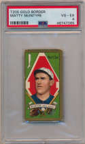 1911 T205 136 McIntyre (White Sox) PSA 4