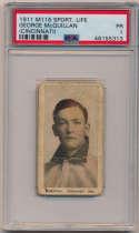 1911 M116 Sporting Life 175.3 George McQuillan (Cincinnati) PSA 1