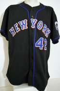2002 Jersey  Mo Vaughn 2002 Mets Alternate Road Jersey