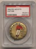 1890 Pin  Heydts Captain Pin PSA 4