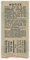 1936 Ticket  World Series Game 1 VG-Ex/Ex