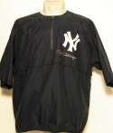 2000 Equipment  Circa 2000 Mel Stottlemyre Game Used/Signed Pullover Jacket Ex-Mt