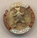 1929 Press Pin  Cubs World Series Ex+