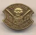 1940 Press Pin  Tigers World Series Ex-Mt