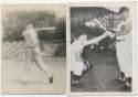 1945 Photo  Ted Kluszewski Lot w/High School Photo (5 pcs) Ex
