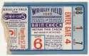 1945 Ticket  World Series Game 6 Good