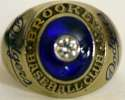 1947   Brooklyn Dodgers World Series Ring Ex+