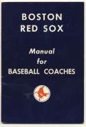 1950   Collection of 4 Red Sox Rosters Ex