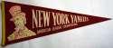 1950 Pennant  1950s NY Yankee World Series Pennant Ex-Mt