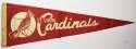 1962 Pennant  Cardinals Ex mk