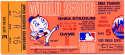 1969 Ticket  World Series Game 5 VG-Ex