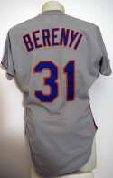 1984 Jersey  Bruce Berenyi 1984 Mets Jersey