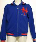1985 Equipment  Mel Stottlemyre Circa 1985 Mets Game Used/Signed Jacket Ex-Mt