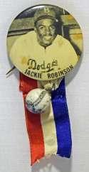 1950 PM10 Pin  Jackie Robinson Ex+