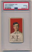 1909 T206 321 Merkle (portrait) PSA 2.5