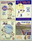 1962   New York Mets 1962 - 2005 Yearbook Run (45 pcs) Ex+