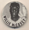 1950 PM10  Willie McCovey (bats on shoulder, no cap logo) Nm-Mt