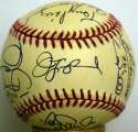 1997 Marlins  Team Ball 9.5