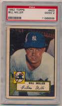 1952 Topps 403 Miller PSA 2