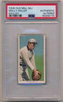 1909 T206 327 Miller (Dallas) PSA AA