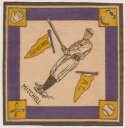 1914 B18 Blanket 55.2 Willie Mitchell (yellow pennants) Ex-Mt+