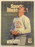 Program  Montana, Joe Signed 1990 S.I. 9.5 PSA DNA (CARD)