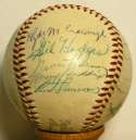 1953 NL All Stars  Team Ball 8