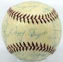 1955 Yankees  Team Ball 8 JSA LOA (FULL)