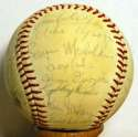 1974 Cardinals  Team Ball 7