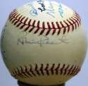 1976 HOF Induction Signed Ball 9 JSA LOA