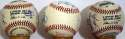 Collection of 7 Cardinals Signed Balls from Mike Shannon 8