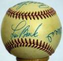 Musial/Flood Signed Ball 9.5